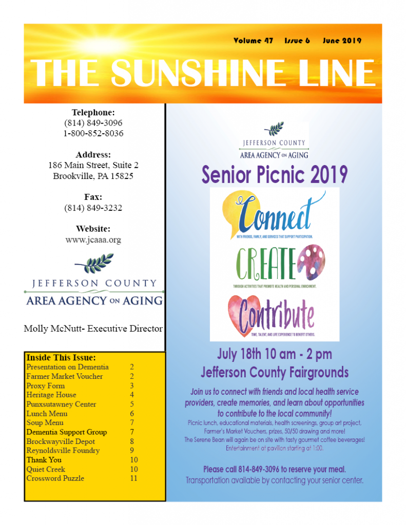 JCAAA – Jefferson County Area Agency On Aging
